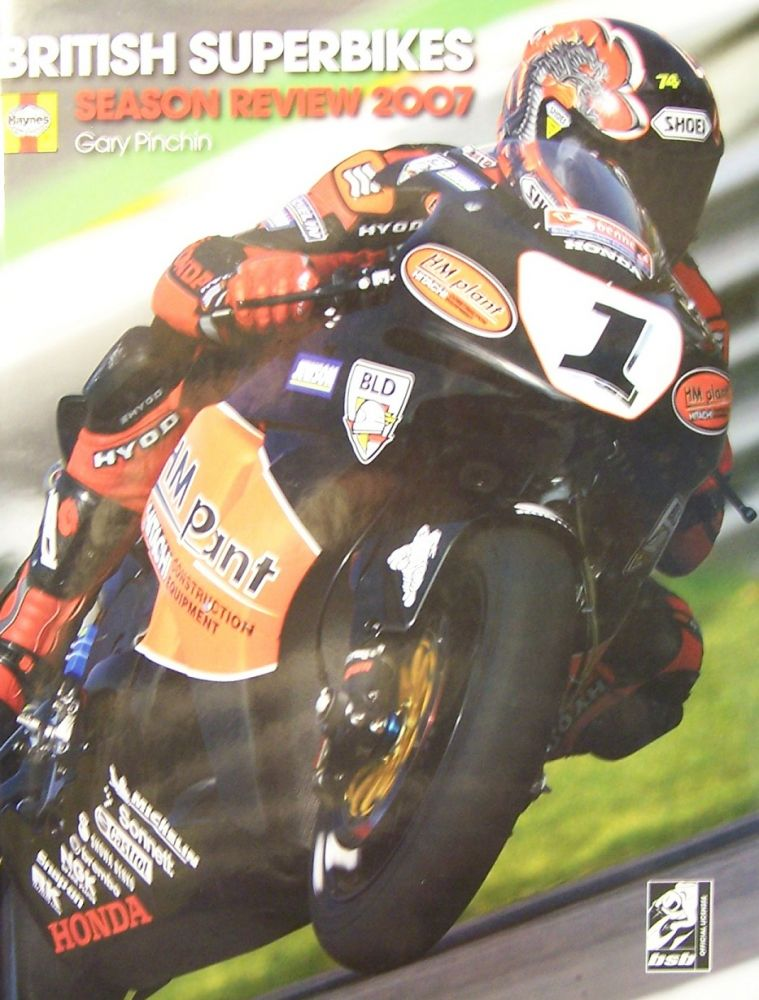 Official British Superbike Season Review 2007 (Official British Superbike Season Review). Gary Pinchin.